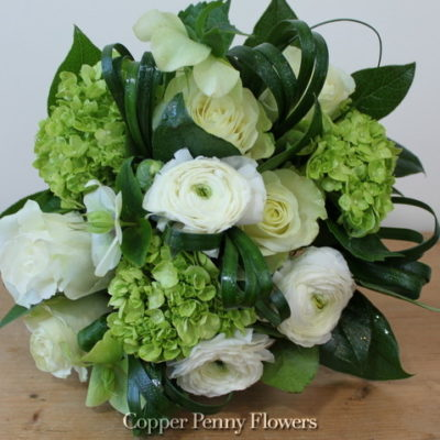 White Green Fusion Bouquet