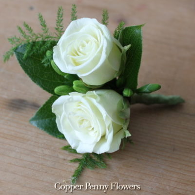 Build Your Own Spray Rose Boutonniere