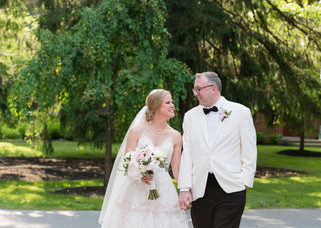 Nathan And Stacy, The Gardens At Elm Bank