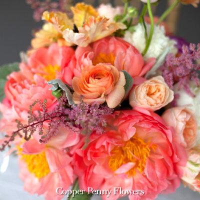 Peach Please Bouquet