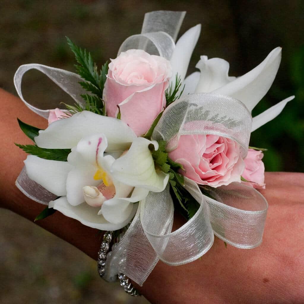 Cymbidium And Rose Corsage Local Concord Florist Copper