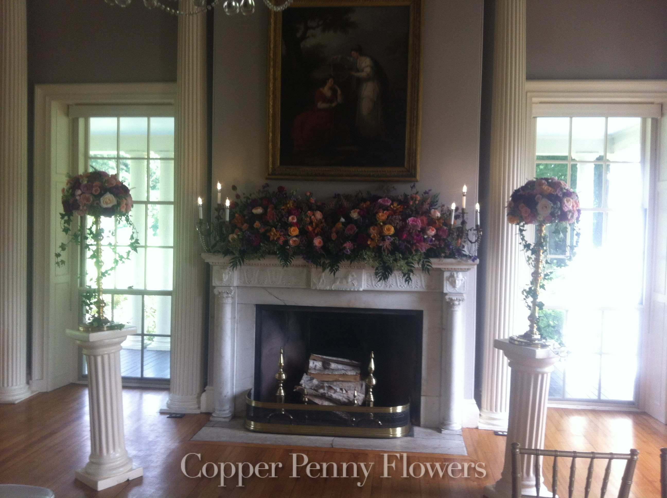 Wedding Photos Local Concord Florist Copper Penny Flowers