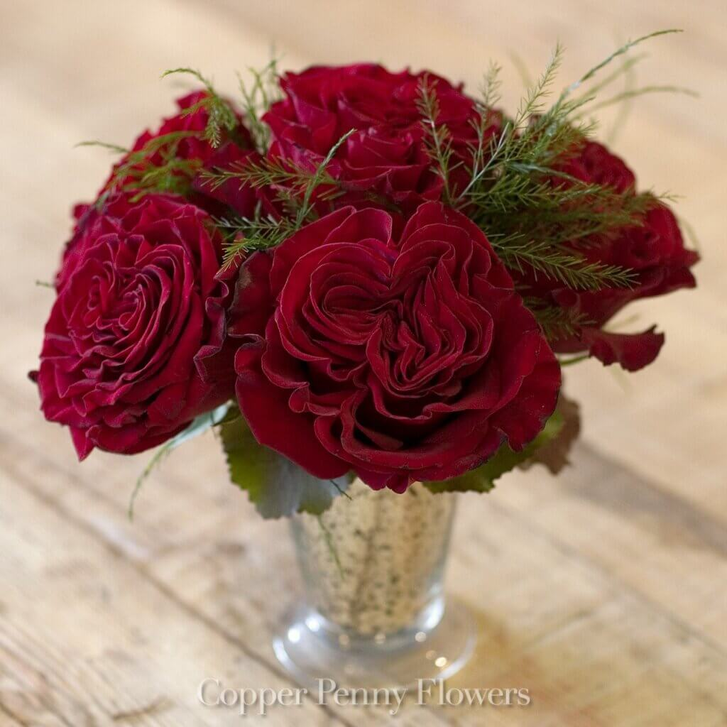 New for Valentine\'s Day - Local Concord Florist Copper Penny Flowers