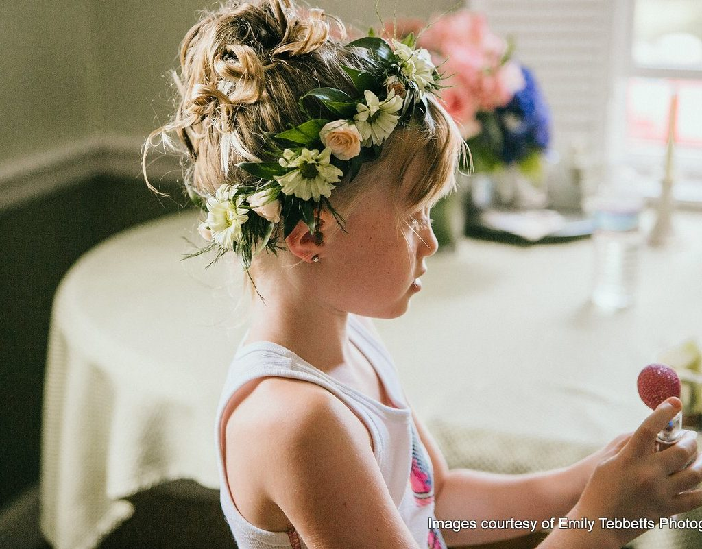 Pretty Floral Crowns By Copper Penny Flowers Local Concord Florist