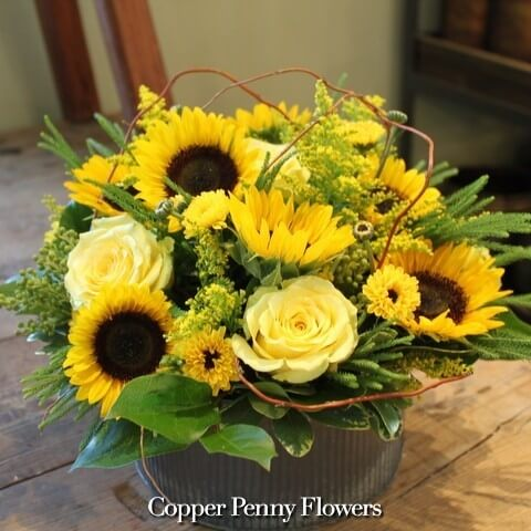 Sunflower Bouquet by Concord Florist