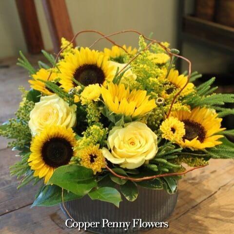 Sunflower Bouquet by Concord Florist