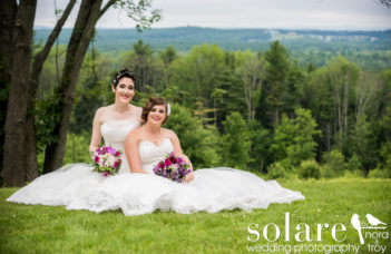 Pam And Sara, Fruitlands Museum Wedding