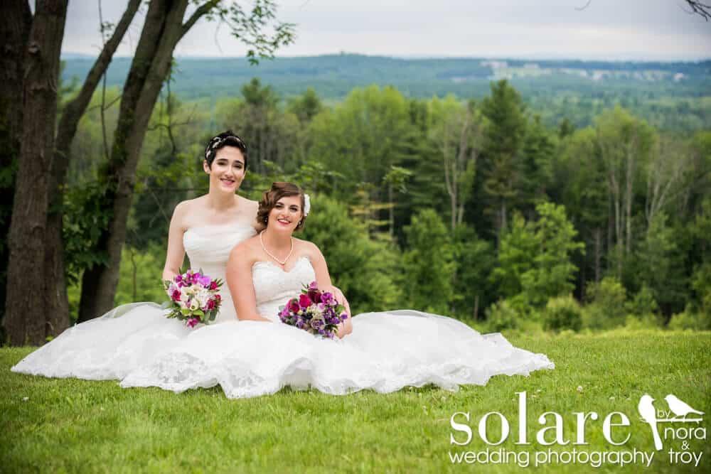 Pam And Sara, Fruitlands Museum Wedding