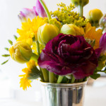 Spring bouquet, shallow depth of field.