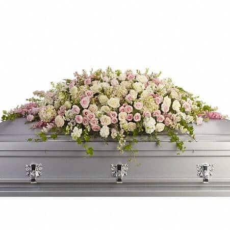 always adored casket spray local concord florist copper