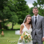 Bride And Groom Outside Xl