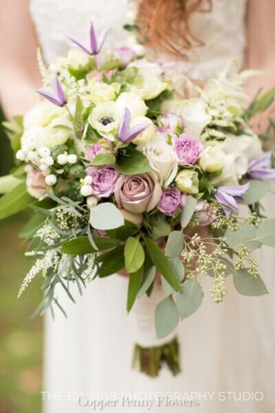 picture of wedding boquet from North Waltham MA
