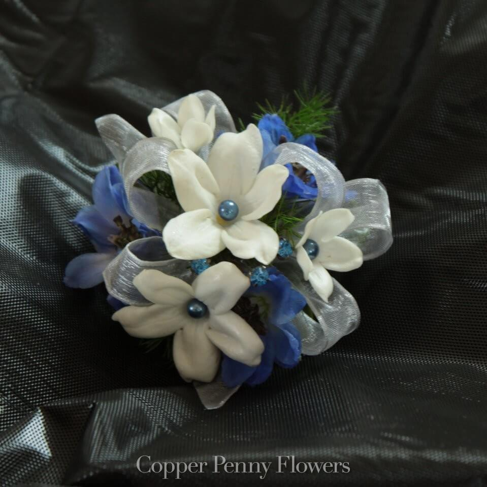 Blue Stephanotis Flowers